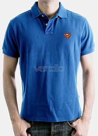 Cotton Division Polo Homme Superman - Logo Cobalt - Legend Icon ...