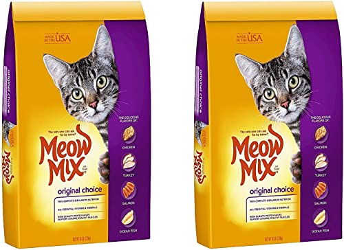 Meow Mix Original Choice Dry Cat Food, 16 lb 16 lb. – 2 Pack