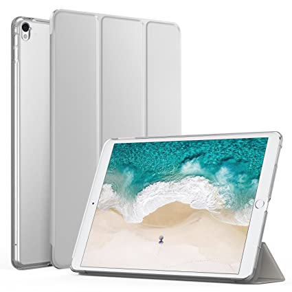 cheap for discount 4ea00 f2867 MoKo Case Fit iPad Pro 12.9 2017/2015 - Slim Lightweight Smart Shell Stand  Cover with Translucent Frosted Back Protector Fit Apple iPad Pro 12.9 Inch  ...