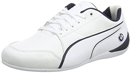 Puma BMW Ms Future Cat, Zapatillas Unisex Adulto, Blanco (Puma White-Team Blue), 39 EU