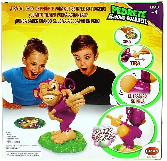 Bizak Pedrete El Mono Guarrete Amazon Es Juguetes Y Juegos