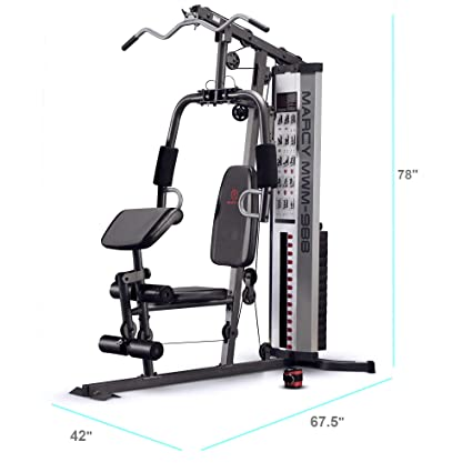 Amazon.com : marcy multifunction steel home gym 150lb stack mwm 988