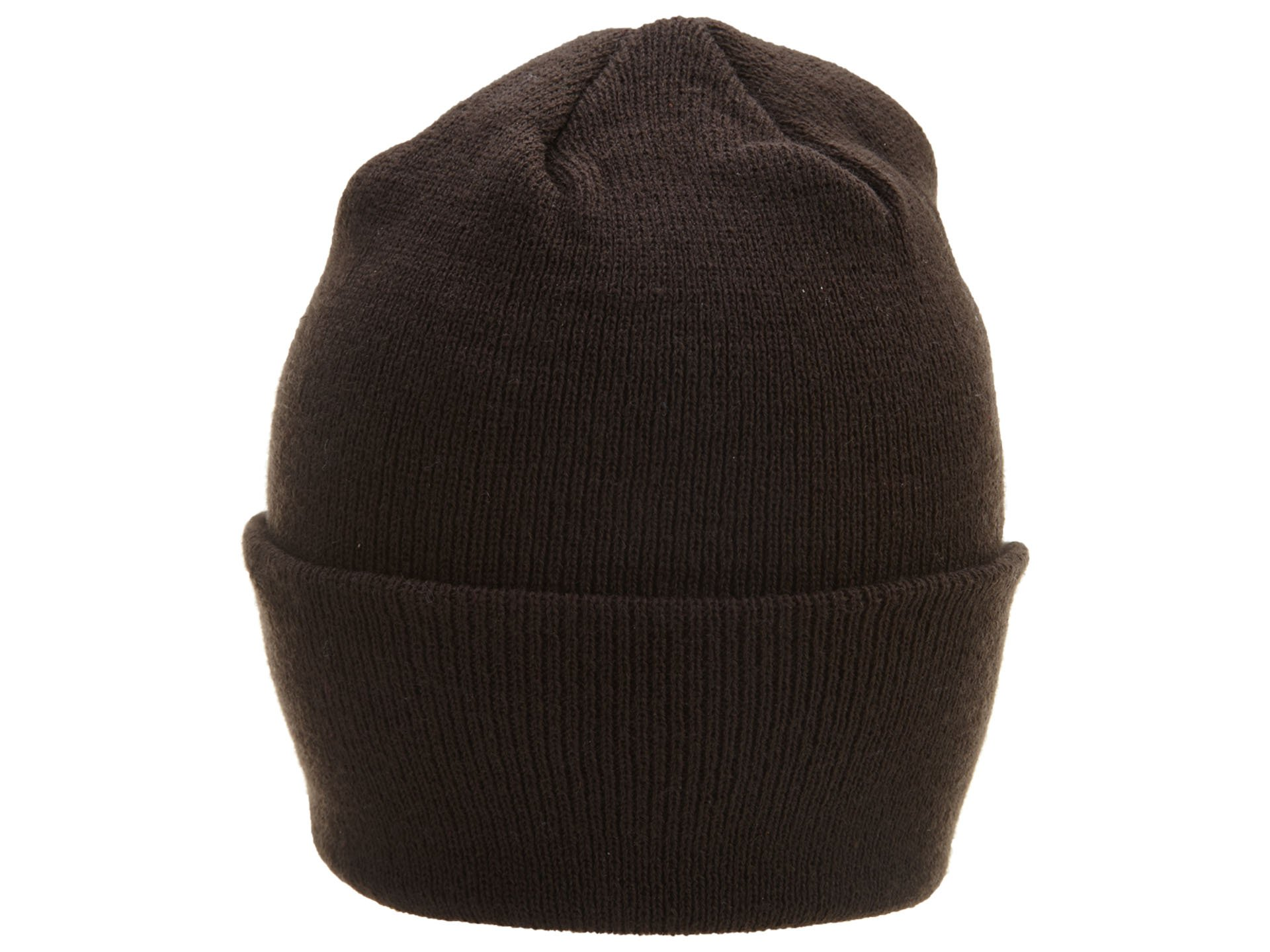 Cleveland Browns Knit Hat: Brown Stadium Cuffed Knit Cap by Reebok (Image #2)