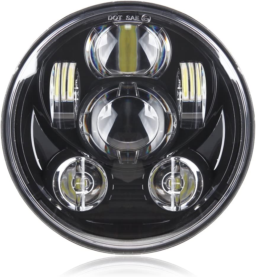 Motorcycle 5-3/4 5.75 LED Headlight