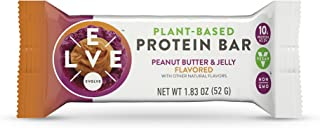 product image for Evolve Plant-Based Protein Bars, Peanut Butter & Jelly, 10g Protein,1.83Oz 12 Count