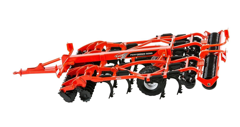 Britains 1:32 Kuhn 5000 Cultivator - Accesorio de Juguete Coleccionable para Granja - Compatible con Todos los vehículos británicos 1:32 - Apto Desde 3 ...