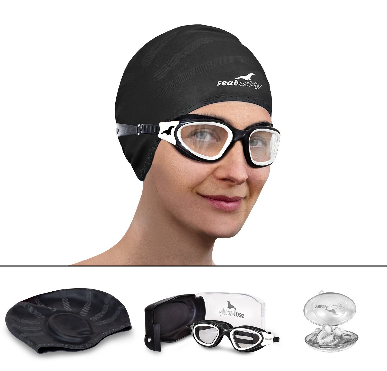 SealBuddy Panoramic Premium Swim Gear - Goggles