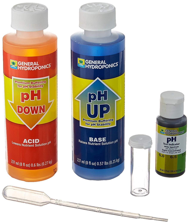General Hydroponics pH Control Kit (4 Sets(Control Kit)) by General Hydroponics