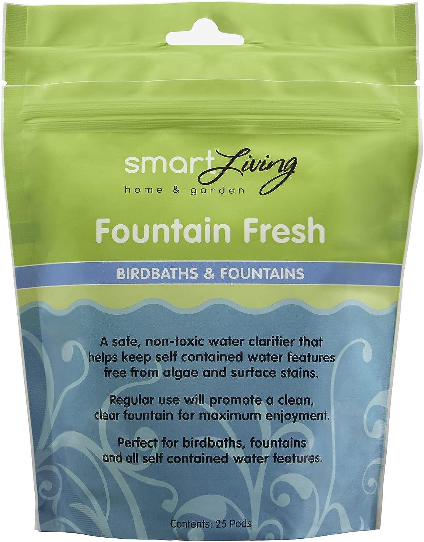 Amazon.com: Smart Solar 80910r01 Fountain Fresh estanque ...