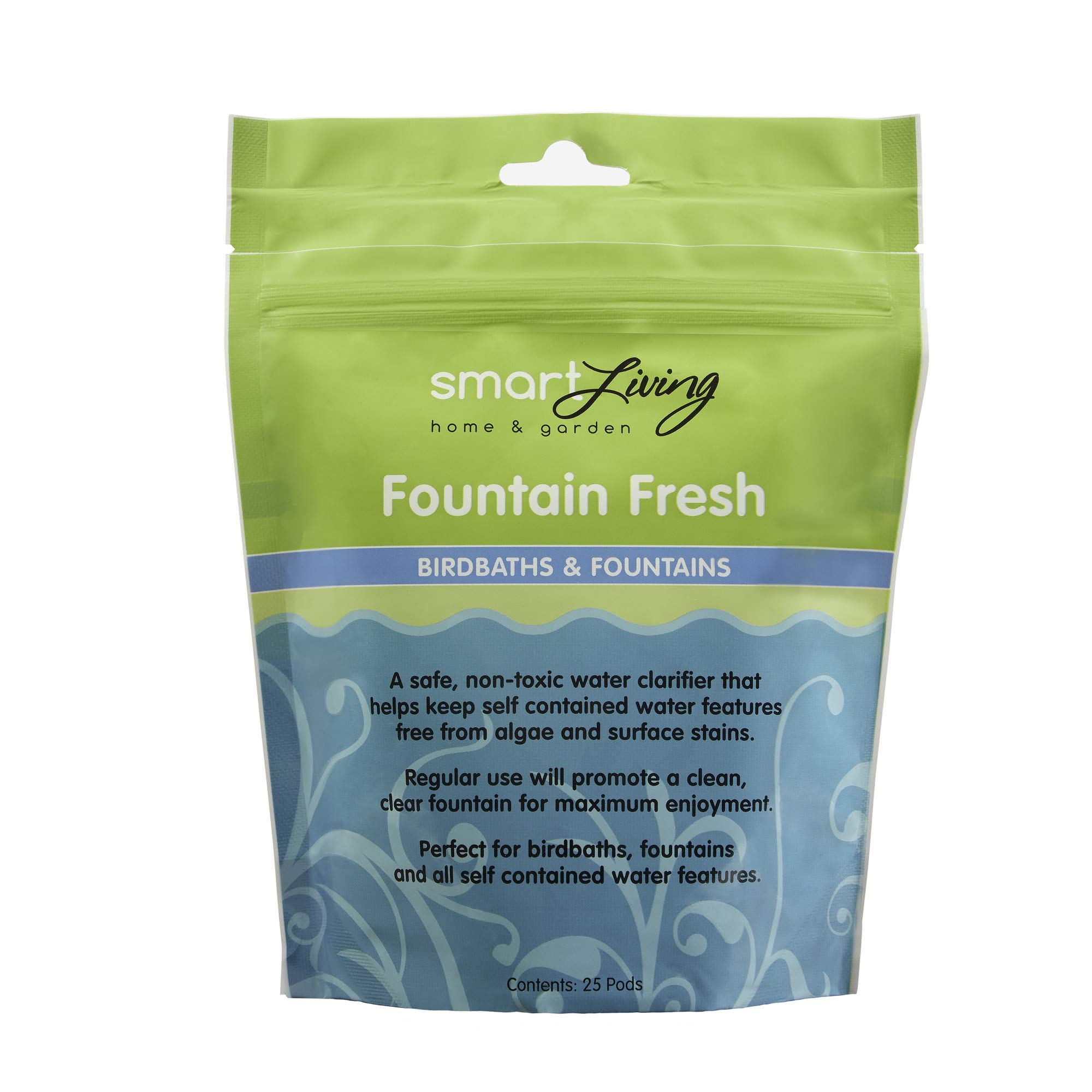 Smart Solar 80910R01 Fountain Fresh Pond Treatment, Safe And Non-Toxic Water Clarifier Perfect For Use in Fountains, Waterfalls And Self-Contained Water Features by STI Group