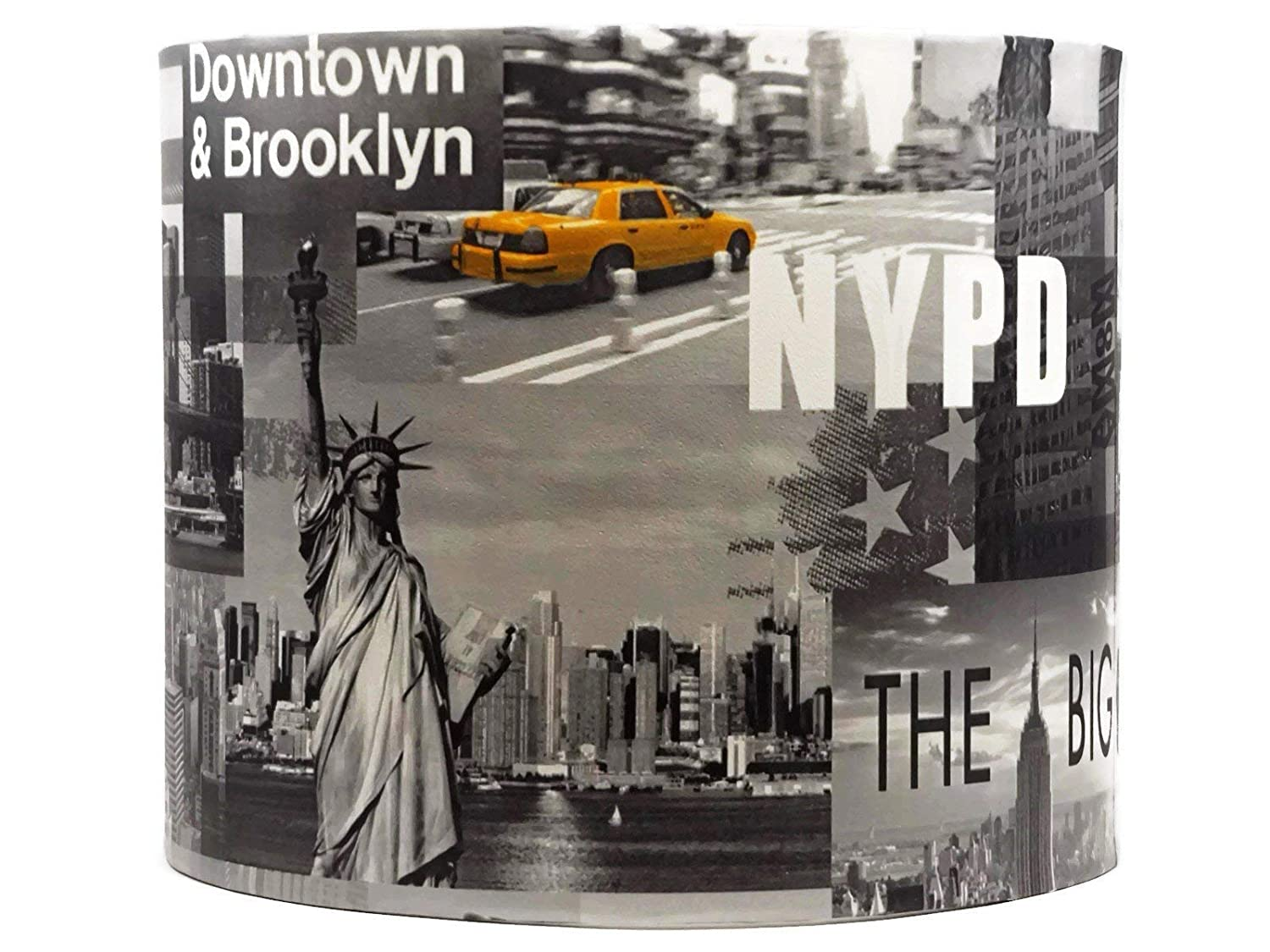 New York Lampshade or Ceiling Light Shade 10 Inch Modern Skyline Bedroom Accessories Gifts