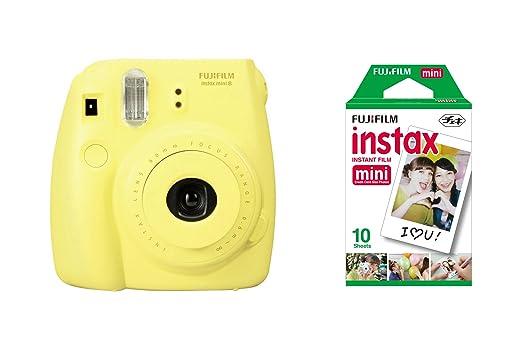 769 opinioni per Fujifilm Instax Mini 8 Yellow + 10 Shots Fotocamera Istantanea per Stampe,
