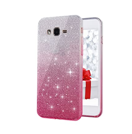 promo code 02230 714b9 Anvika Silicone Soft Sparkle Back Cover for Galaxy J2 Pro