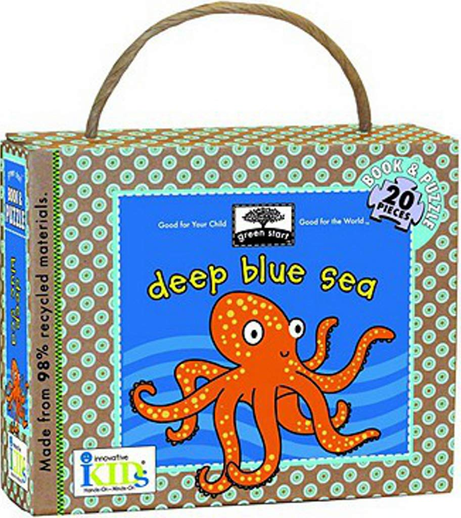 Green Start: Deep Blue Sea (Book and Puzzle) - Made From 98% Recycled Materials (Green Start Puzzles) ebook