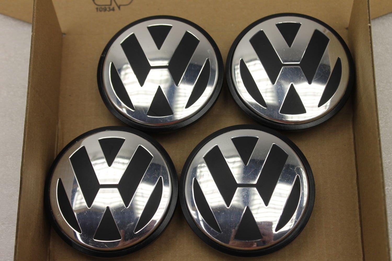 4 unidades Original Volkswagen Golf Passat Touran 3b7601171 Buje Tapa para llantas fa2138: Amazon.es: Coche y moto