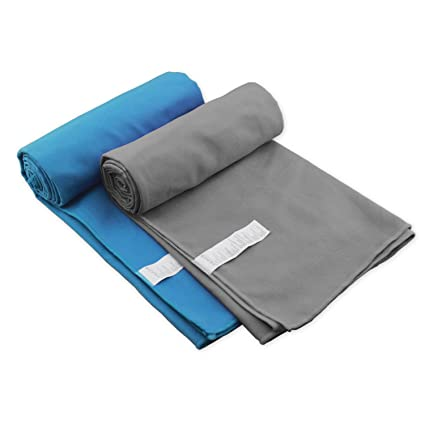 Toalla de microfibra Ultra compacta absorbente y de secado rápido viaje toallas de deportes de Premium ...