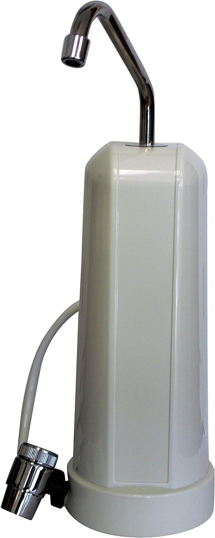 F5 40,000-Gallon Countertop Water Filter, White Finish