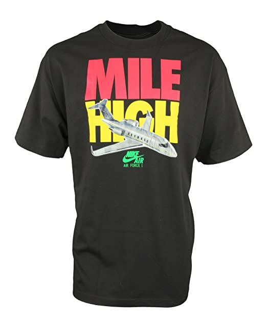 ee9b483e7673 Nike Air Jordan Men s Mile High Air Force One Tee