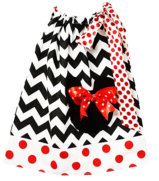 849046258f8da Wholesale Princess Black and White with Red Polka Dots Cotton Pillow Case  Dress