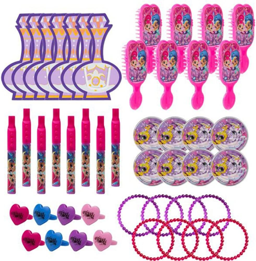 Amazon.com: Shimmer y Shine Favor Pack (48pc): Home & Kitchen