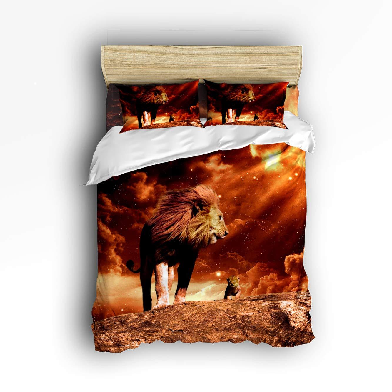 USOPHIA ベッドシーツ4点セット スカルダイヤモンド トゥギャザー 3Dプリント 花柄 羽毛布団カバーセット ツイン 20181009LCZUSOPHIA2SLXM01331SJTAUPA B07JLYX1JH Lion409l ツイン