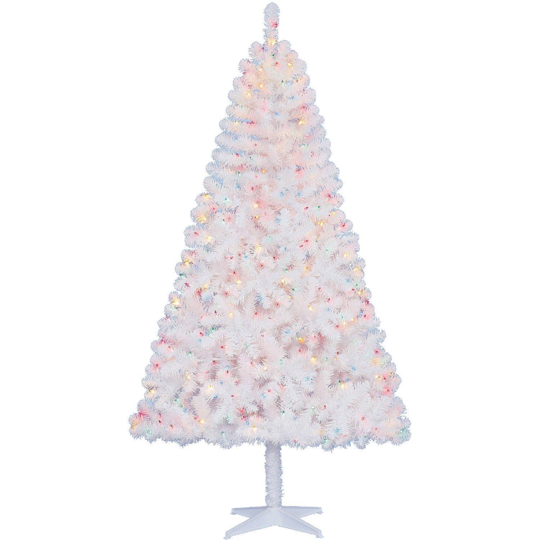 Amazon Eminent Pre Lit 6 5 Madison Pine Christmas Tree Green