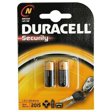 12X pilas alcalinas Duracell N Lr1 Mn9100 Micron Fox: Amazon ...
