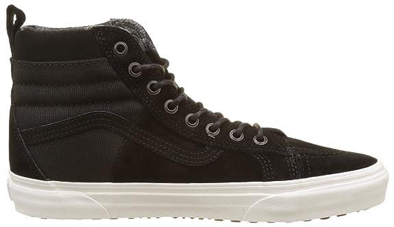 Amazon.com   Vans Mens Sk8 Hi 46 MTE DX Skate Shoes (8 D(M) US, Black)   Shoes