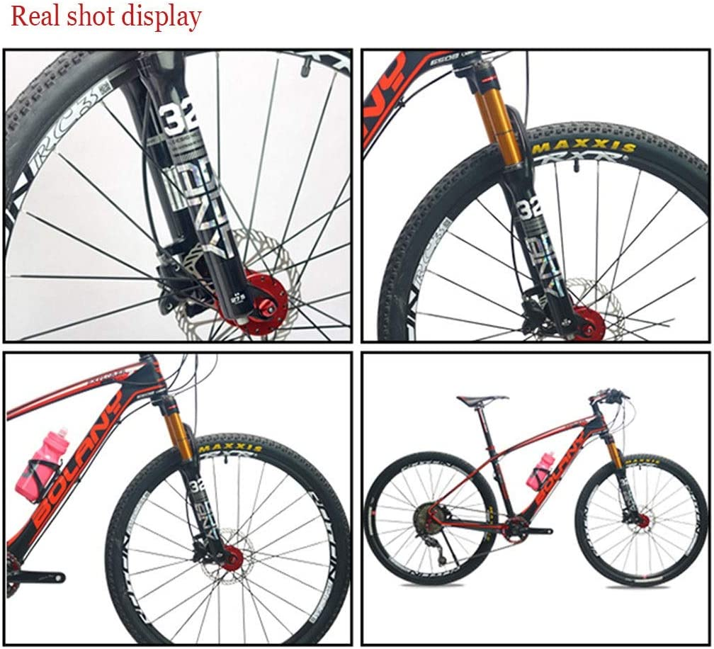 """24/"""" Mountain Bike Suspension Fork 1/"""" Threaded Rim V-Brake Silver NEW"""