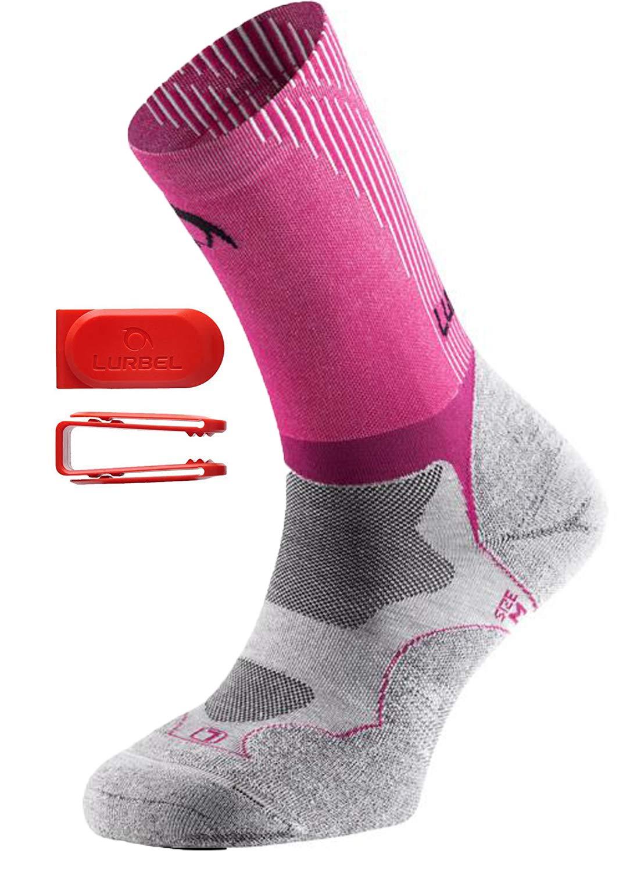 Lurbel Gravity Kurze Sport Kompressionsstrümpfe/Laufsocken/Kompressionssocken, geruchshemmend, ergonomische Polsterung, Herren & Damen