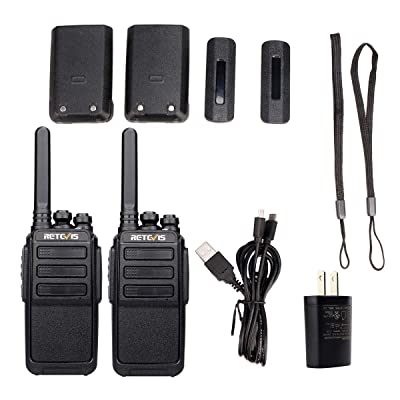 Retevis RT28 Walkie Talkies Rechargeable Long Range FRS Radio UHF VOX 16 Channels USB Charging 2 Way Radios Long Range Cruise Shipping Hiking Camping (2 Pack): Car Electronics