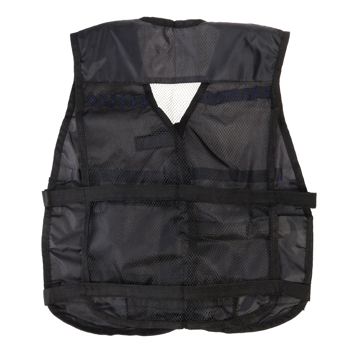 M Negro Kaimeng Tactical Chaleco Ajustable para Strike Elite Series ni/ños Nerf Battle