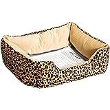 PawHut Pet Dog Puppy Heated Bed Electric Heating Beds Cat Kitten Warmer Heater Pad Sleeper Mat Safe