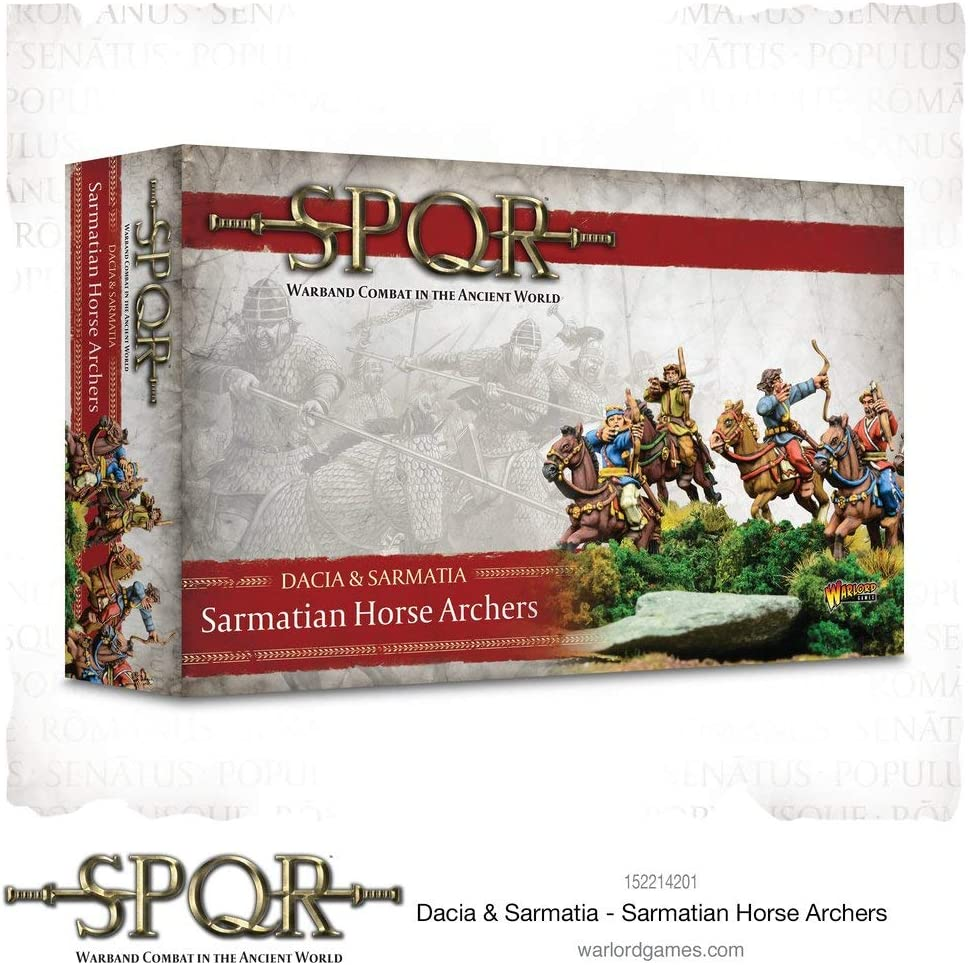 Warlord Games, SPQR: Dacia & Sarmatia - Sarmatian Horse Archers