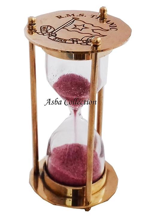 Amazoncom Jdz Collection Decorative Brass Sand Timer Hourglass 4 - Decorative-hourglass