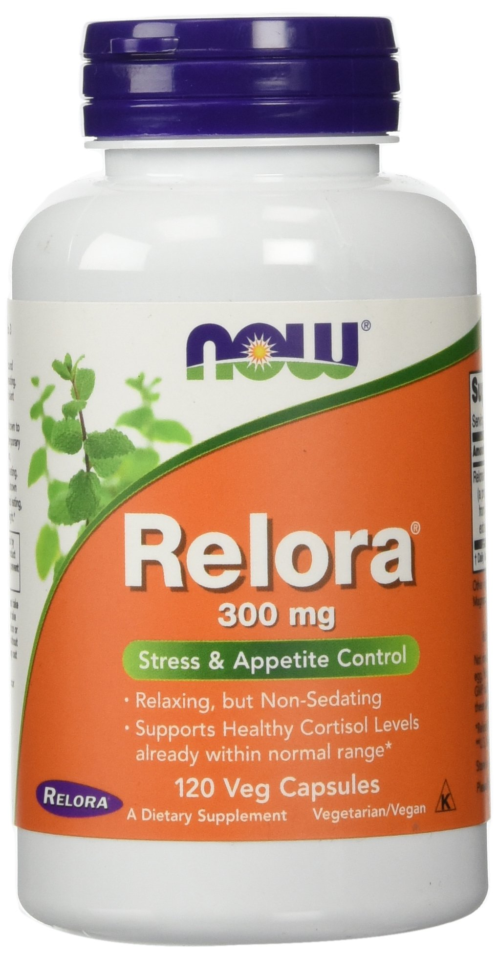 NOW Relora 300 mg,120 Veg Capsules by NOW Foods