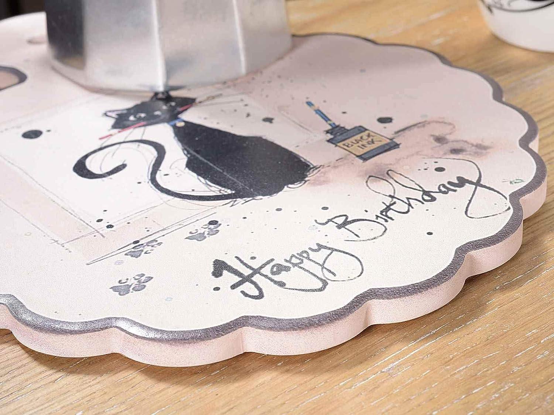 Salvamanteles de cer/ámica pintada decoraci/ón para la cocina