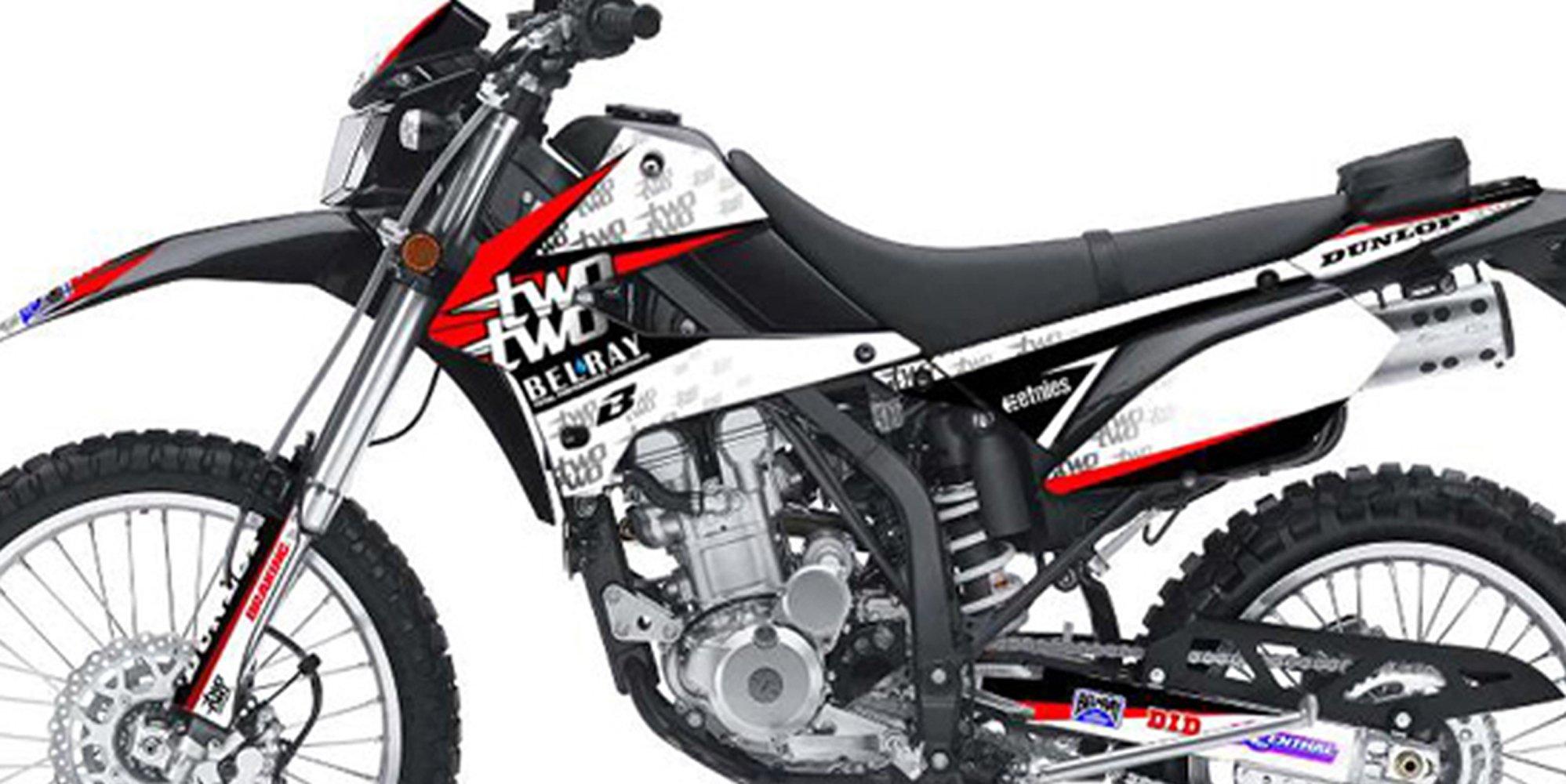 Kawasaki KLX 250 Custom Sticker Graphic Decals Kits BAT TwoTwo Motorsports