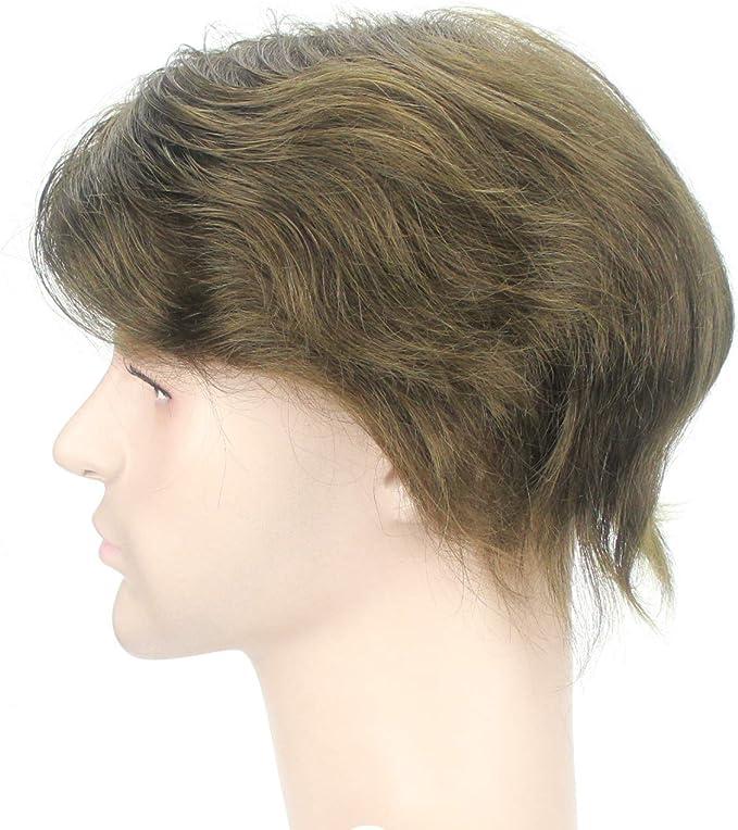 Peluquín para hombre Lordhair, de cabello humano, con redecilla ...