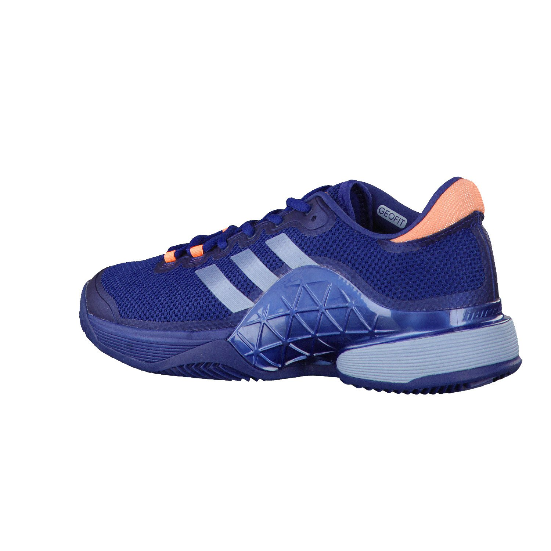 adidas Zapatillas Barricade Azul Naranja: Amazon.es ...