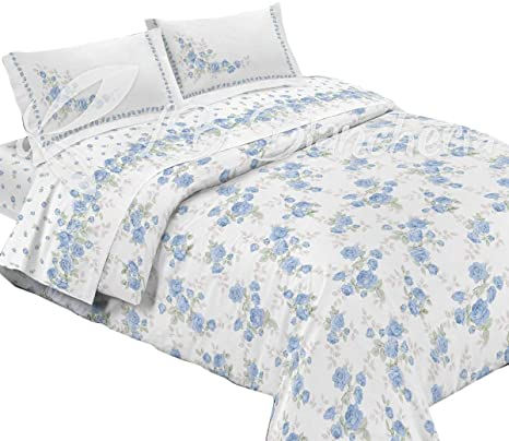 Copripiumino 180x260.Rp Summer Quilt Elisabeth 100 Made In Italy Single Bed