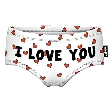 d60ae2962176 Fringoo ® Women's Knickers Girls Briefs Ladies Pants Hipster Underwear  Funny Fashion Panties 8-10