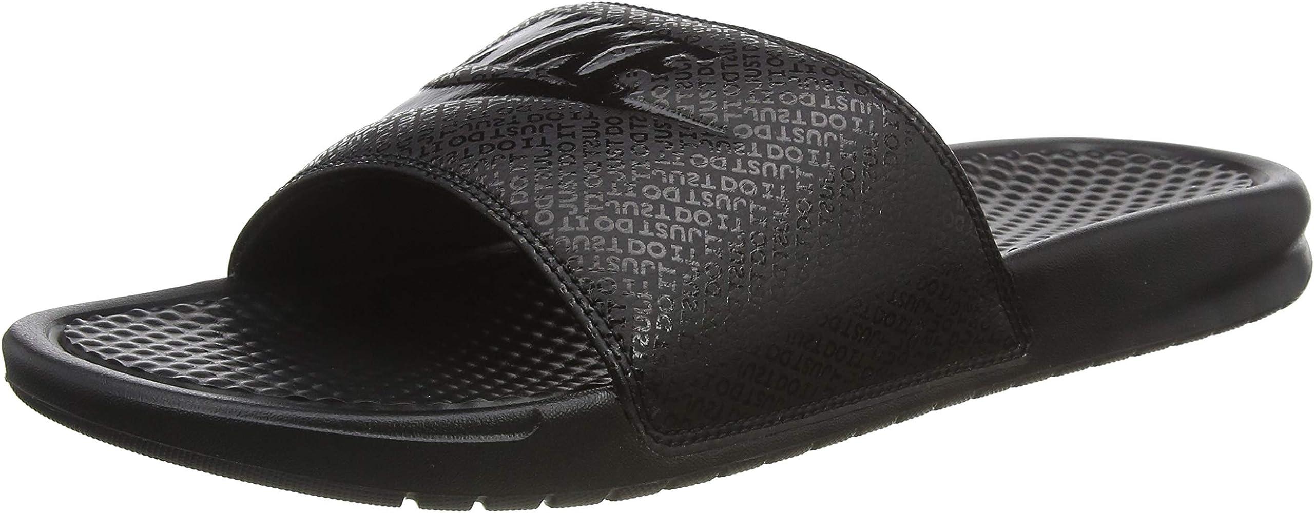 Chanclas Unisex Adulto 38.5 EU Nike Benassi Jdi Black//Black//Black Negro