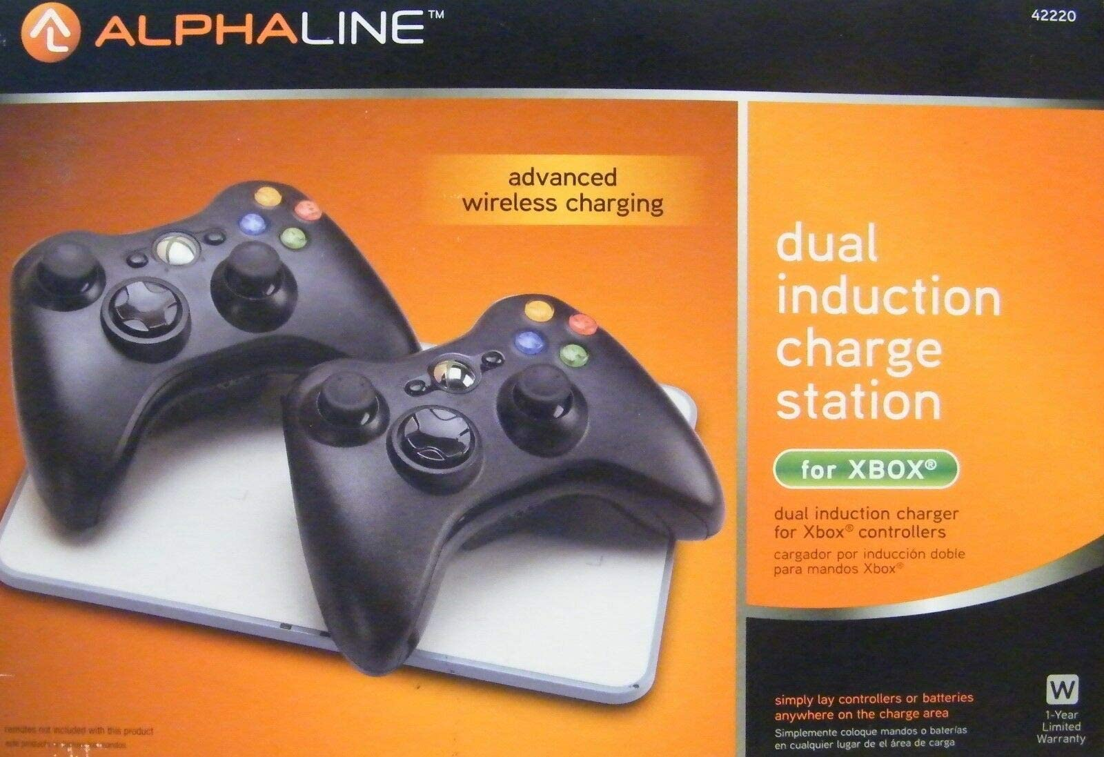 Amazon.com: Alphaline- Dual Induction Charge Station for ...