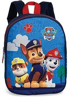 PAW PATROL Kinderrucksack Rucksack blau mit Brustgurt Gurties 23 x 29 3-6 Jahre
