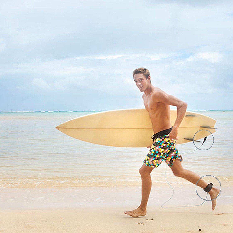 NONMON Correa Sup Espiral TPU Design Premium para Plana y Open Water Stand Up Paddle Board,Tabla de Surf
