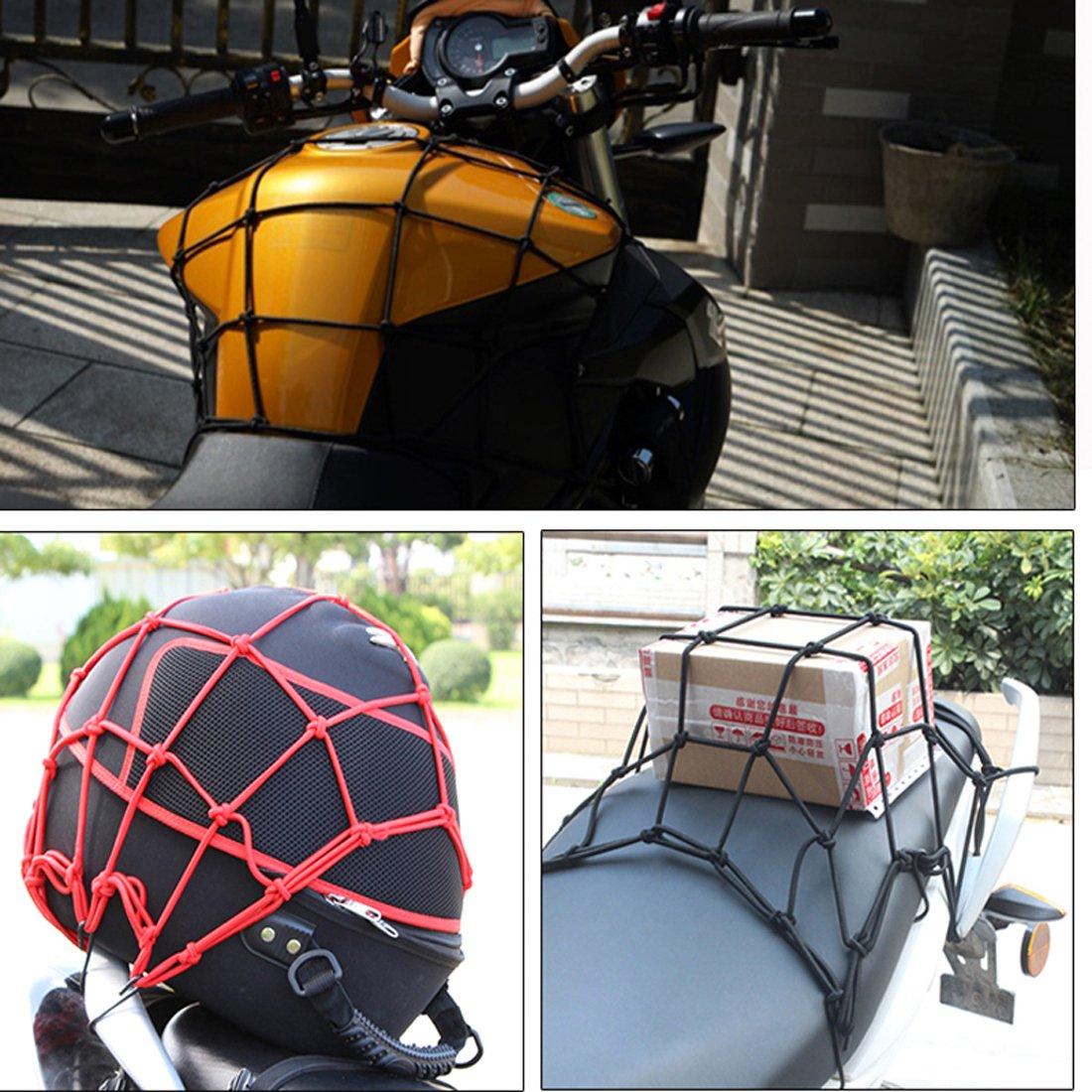 Andux Zone Motorrad Gep/äcknetz Transportnetz Netz f/ür Fahrrad Gep/äcknetz f/ür Fahrradkorb Gep/äcknetz WD-01