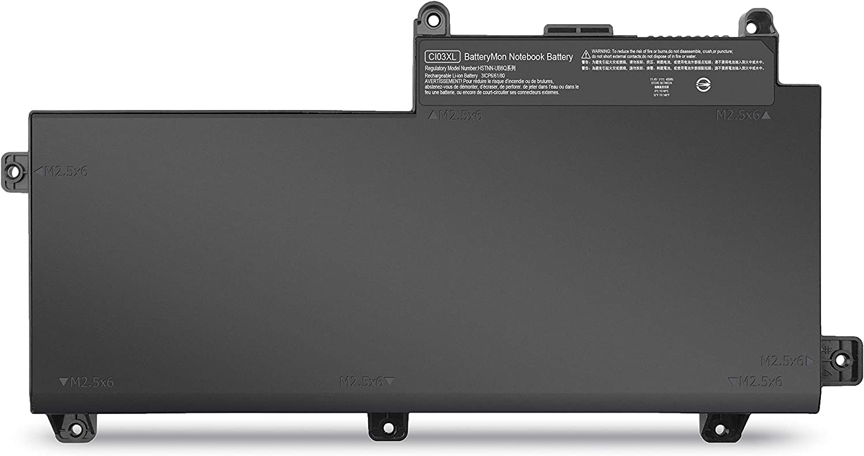 New CI03 CI03XL Battery for HP ProBook 640 G2 645 G2 650 G2 655 G2, Fit HSTNN-UB6Q 801554-001 (11.4V 48Wh)