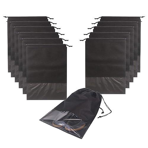 Amazon.com: 12 bolsas de zapatos de viaje, impermeables, no ...