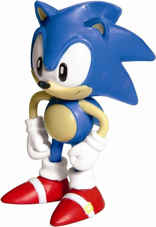 SONIC the Hedgehog Action Figure Bambini Giocattoli modello classico Display Nuovo